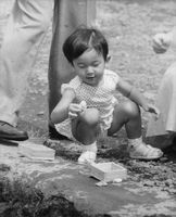 Picture of Naruhito, crown prince of Japan. He is the son of Prince Akihito and Princess Michiko.