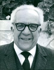 A portrait of an old man. 1968