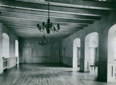 Interior of Bishop's farm in Strängnäs.