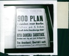 A propaganda book in Sweden during WWII.