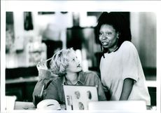 Drew Barrymore and Whoopi Goldberg star in Boys on the Side.