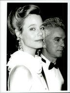 Portrait image of Susan Dey and Bernard Sofronsky taken in an unknown context.
