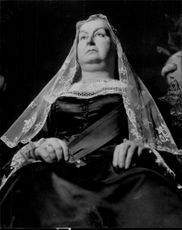 """""""Queen Victoria"""" on Madame Tussaud's wax cabinet"""