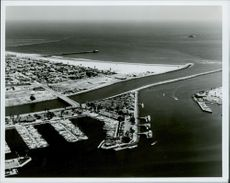 OS in Los Angeles 1984. Long Beach Marina, Sailing Event