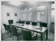 A boardroom in the Tempo Palace