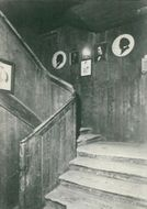 The historic staircase of the young H.C. Andersen passed away with heartbreaking postcards