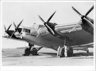 Aircraft of the Junkers G 38 model that was part of the Lufthansa fleet 1931-1940.