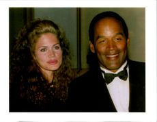 O. J. Simpson with Paula Barbieri.