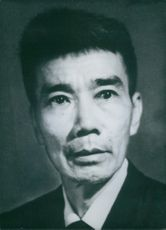Portrait of Vietcong leaders Dr. Phung Van Cung