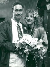 Nigel Planer with Kate Buffery.