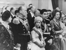 Princess Margaretha among people.