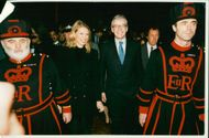 Anne Lucinda Hartley Rice with prime minister.