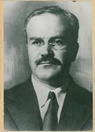 Portrait of President of the People's Commissions, Molotov WM