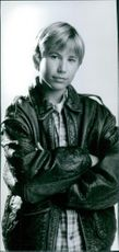 Portrait of Jonathan Taylor Thomas from the movie Wild America, 1997.