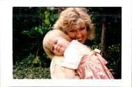 Diana Holmes:with her daughter
