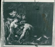 Sir Peter Paul Rubens:a preliminary oil sketch.
