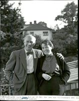 Lars Egge and Isa Quensel