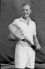 tennis players - 12 August 1949