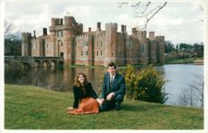 Chris Drawson & Rachel Swaine,Herstmonceux Village in England.