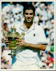 Pete Sampra's winner of Wimbledon in 1994.