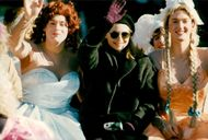 """Michelle Pfeiffer is at Harvard University to receive the award """"Hasty Pudding Woman of the Year"""""""