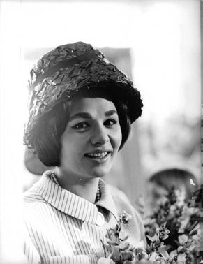 Portrait of Princess Soraya.