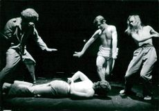 """""""... and they put the handcuffs on the flowers"""" by Fernando Arrabal at the South Theater"""