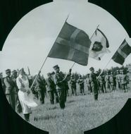 Country Storm parade banner.