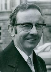 Portrait of Irish politician Richard Ryan.
