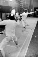 Fencing Training.