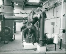 The air compressor room of Temple Mills