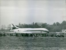 A photo of Sud SE-210 Caravelle F-BHHI.