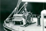 Maritime Museum: The Great Picture Hunt. Model vessel, detail.