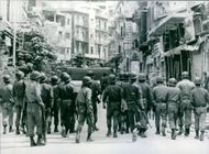 Lebanese Army in action