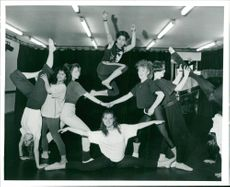 Dance: Students from the College.