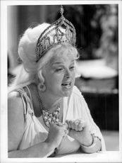 Diana Dors as Helen of Troy