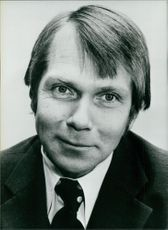 Anders Thunborg in a portrait.