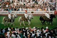 Opening ceremony at the Dubai World Cup Horse Race