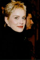 Portrait of actress Sharon Stone