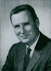 Portrait of Governor William L. Guy. 1964.