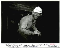 Michael Spicer M.P visited the coalface at Thoresby Colliery Notts.