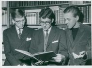 Three students from Northern Real Final Winner in Sweden's Radio Contest Olympics: Thomas Eckered, Christian Bratt and Johan Rådberg