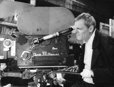 Jacques Charrier directing a movie.