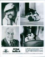 Dom DeLuise and Ernest Borgnine lend their voice in the film All Dogs Go to Heaven 2.