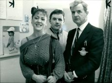 Rodney Bewes with Reece Dinsdale.