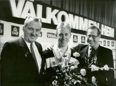 Gvan Svan was praised at Arlanda. In his luggage he had two Olympic gold, one on 50 km of freestyle and one on 4x10 km of relay.