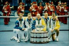Sweden wins the Davis Cup final against Russia in Moscow