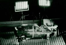 Crash test Ford Escort