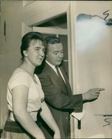 Michael Wagner with June Hunt.