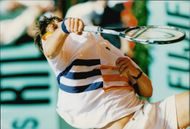 Arnaud Boetsch during the match against Karol Kucera in French Open 1997
